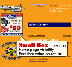 Sample Small Box Ad