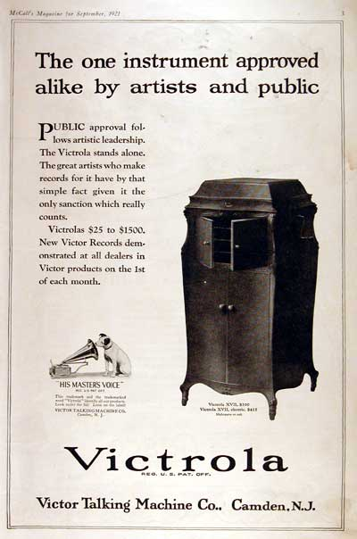 1921 RCA Victor #002804