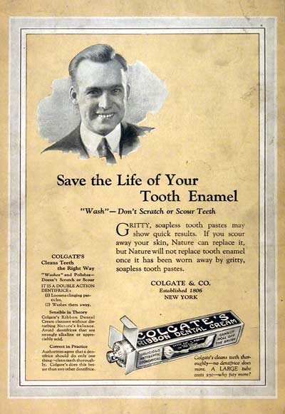 1922 Colgate Toothpaste #003136