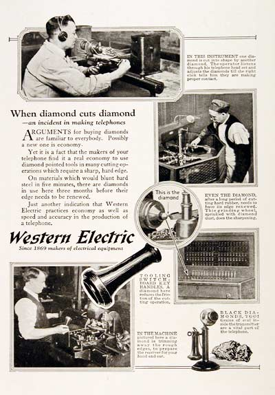 1923 Western Electric Telephone #003157