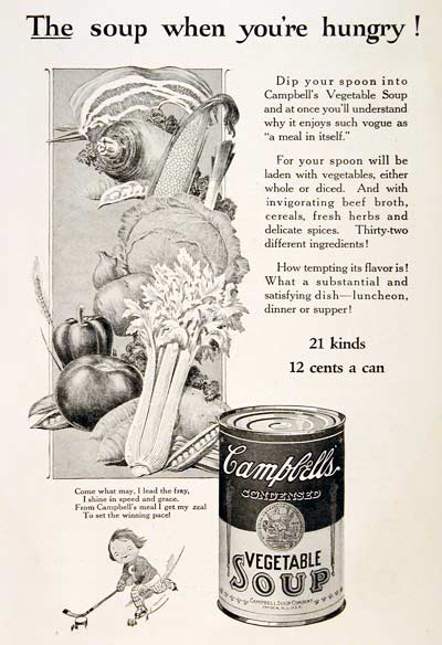 1925 Campbell's Soup #003210