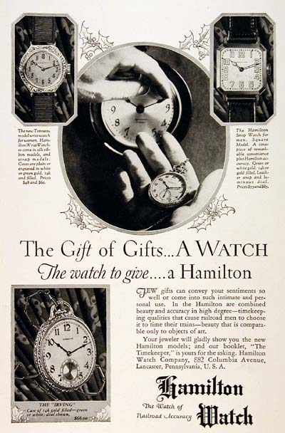 1926 Hamilton Watches #003236