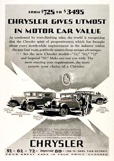 1927 Chrysler Line #003256