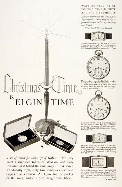 1927 Elgin Watches #003243