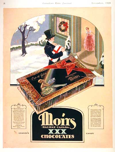 1928 Moirs Chocolates #002791