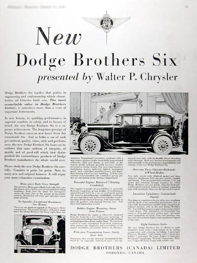 1929 Dodge Brothers Six Sedan #007932