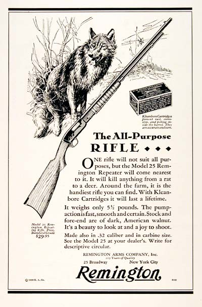 1929 Remington Rifle #003264