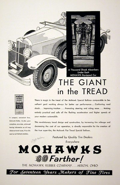 1930 Mohaawk Tires #003901B