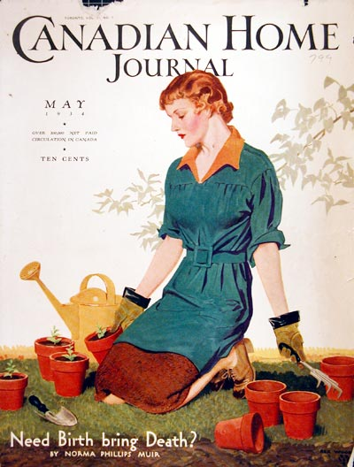 1934 Canadian Home Journal #007940