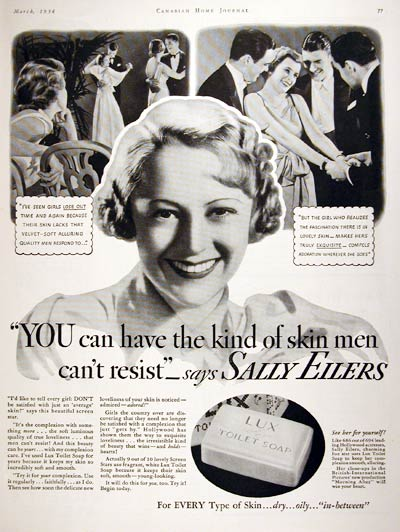 1934 Lux Soap #008004