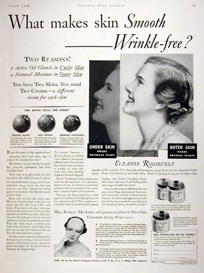 1934 Pond's Cold Cream #007995
