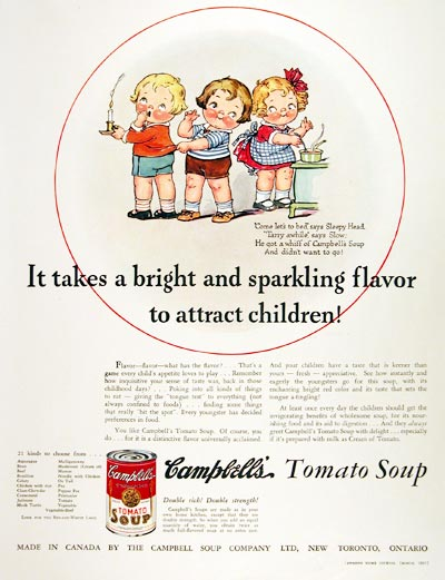 1935 Campbell's Tomato Soup #007847