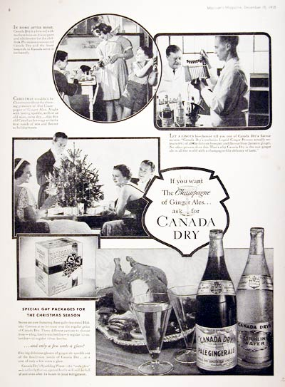 1935 Canada Dry #008093