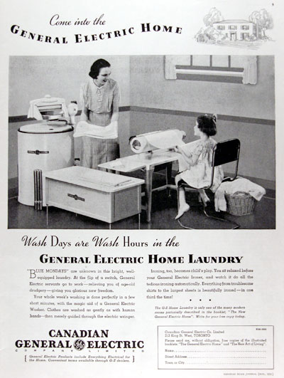 1936 GE Home Laundry #023789