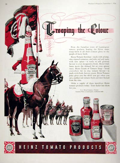 1936 Heinz Tomato Products #008114