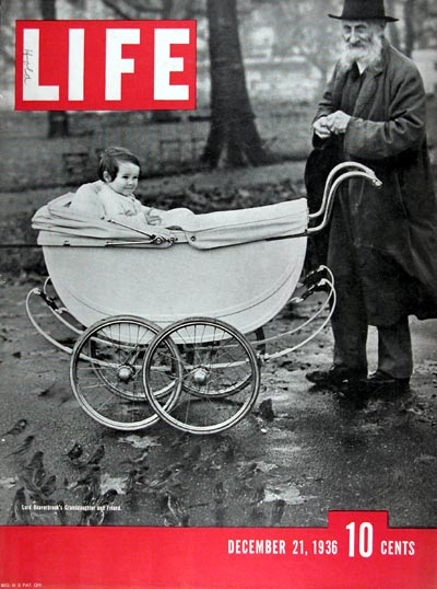 1936 Life Cover ~ Lord Beaverbrook's Granddaughter