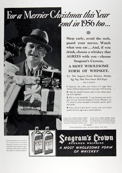 1936 Seagram's Crown Whiskey #024207
