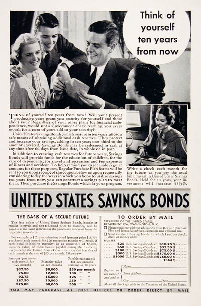 1936 U.S. Savings Bonds #007835