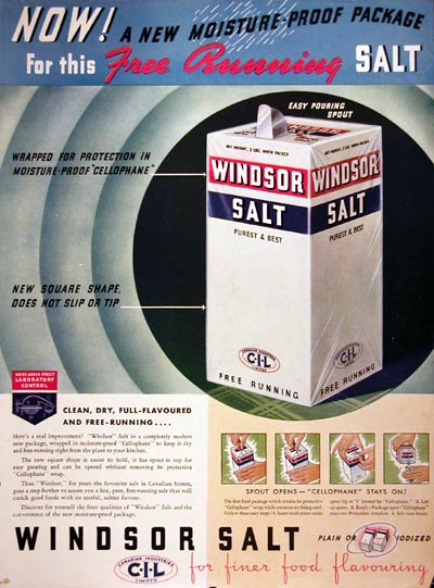 1936 Windsor Salt #008115