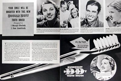1937 Double Duty Toothbrush #024285