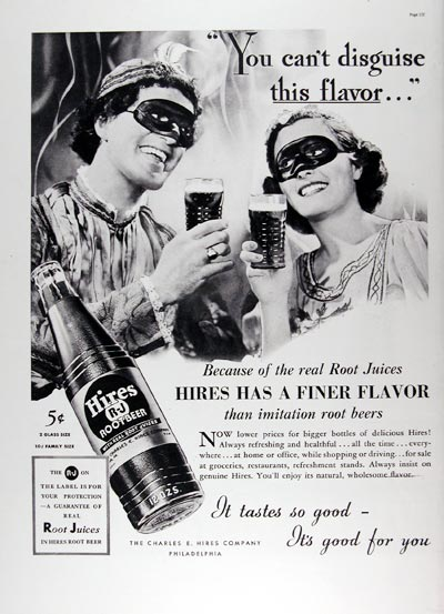 1937 Hires Root Beer #024305