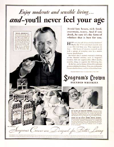 1937 Seagram's Crown Whiskey #003934