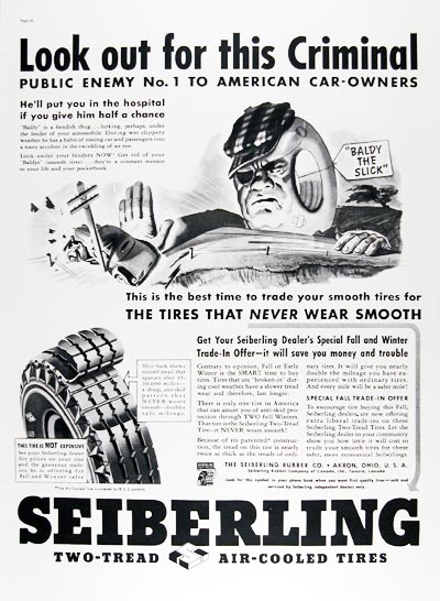 1937 Seiberling Tires #024288