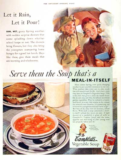 1938 Campbell's Soup #002727