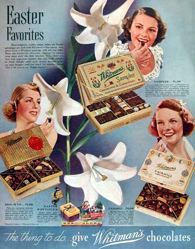 1938 Whitman Chocolates #002714