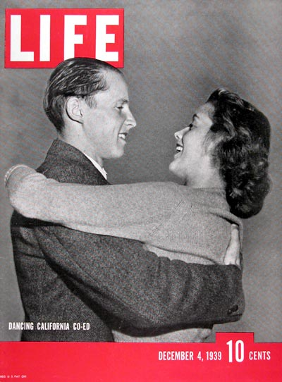 1939 Life Cover ~ Dancing Co-Eds #024326