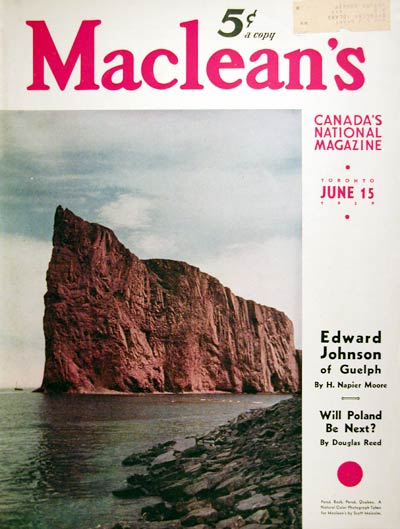 1939 Percé Quebec