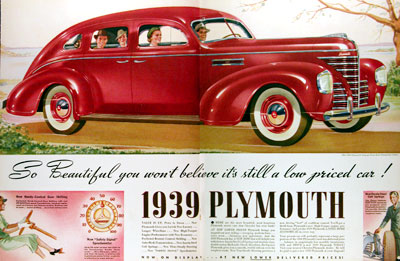 1939 Plymouth Streamline Sedan #017297