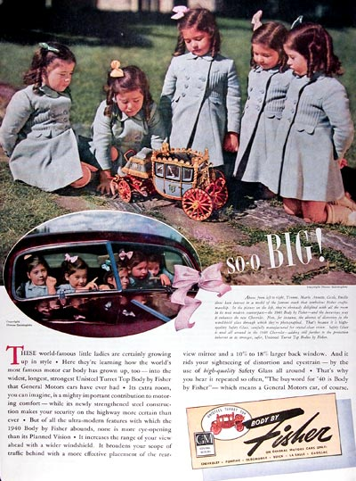 1940 Fisher Body - Dionne Quintuplets #023808