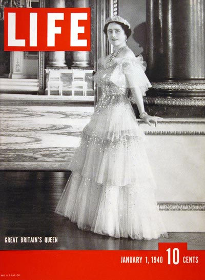 1940 Life Cover - The Queen Mother #006572
