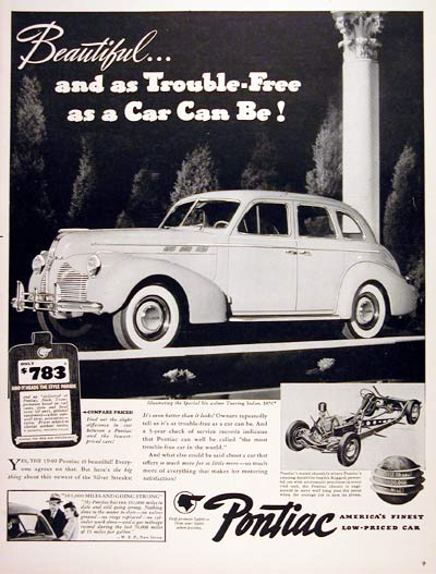 1940 Pontiac Touring Sedan #006713