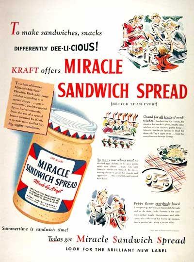 1941 Kraft Miracle Spread #002656