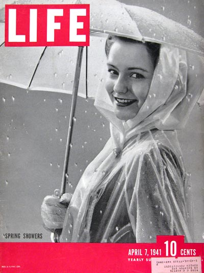 1941 Life Cover ~ Spring Showers #008952