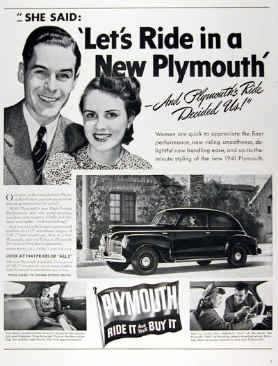 1941 Plymouth 2-Door Sedan #008870