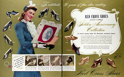 1941 Red Cross Shoes #008891
