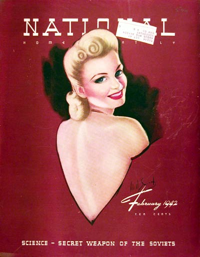 1942 National Cover Valentine #008099