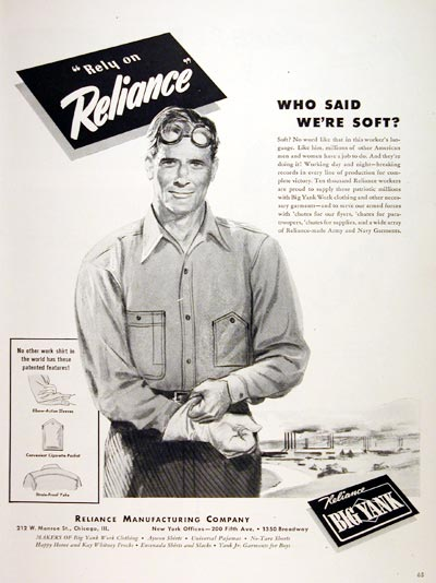 1943 Reliance Big Yank #006912