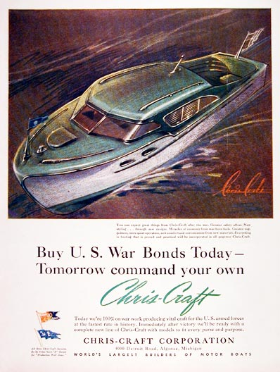 1943 Chris Craft #006905
