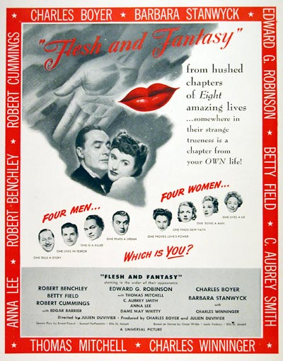 1943 Flesh and Fantasy Movie #007499