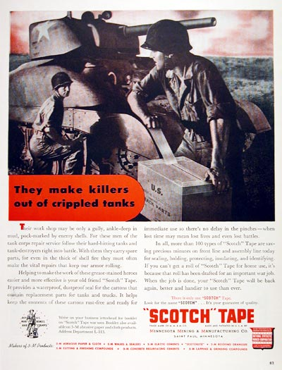 1943 Scotch Tape #007501