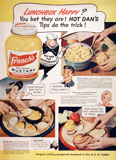 1944 French's Mustard #007003
