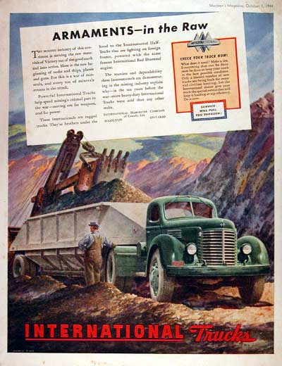 1944 International Trucks #002417