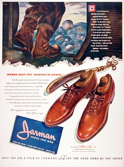 1944 Jarman Shoes #007030
