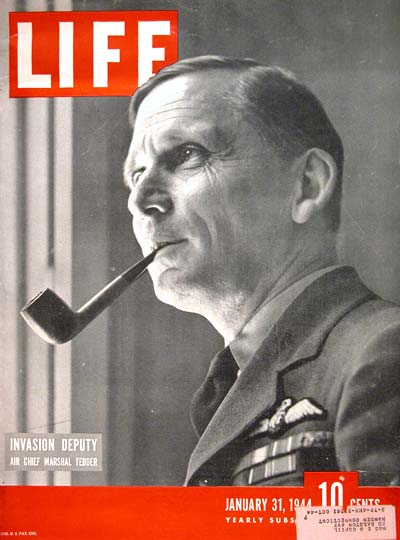 1944 Life Cover - Air Marshal Tedder #006998