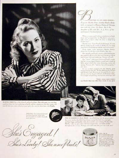 1944 Pond's Cold Cream #007023