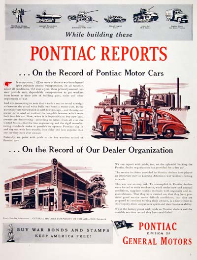1944 Pontiac War Effort #006990